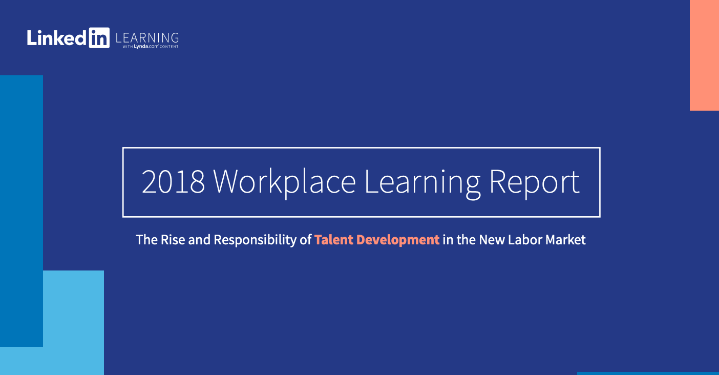 2018 Workplace Learning Report
